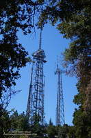 Antennae on Mt. Wilson at the top of the Kenyon Devore Trail.