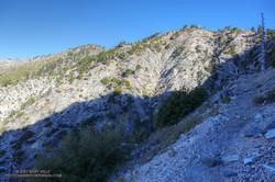 Working up toward Windy Gap (7588') on the Windy Gap Trail