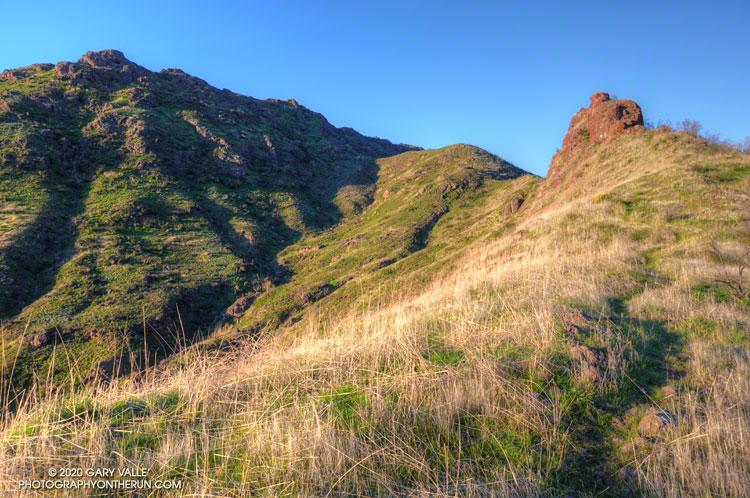 Northeast ridge of Ladyface mountain