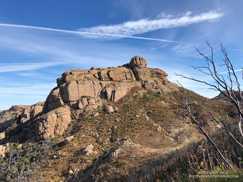 Boney Bluff from the Backbone Trail