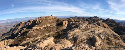 Boney Mountain plateau.