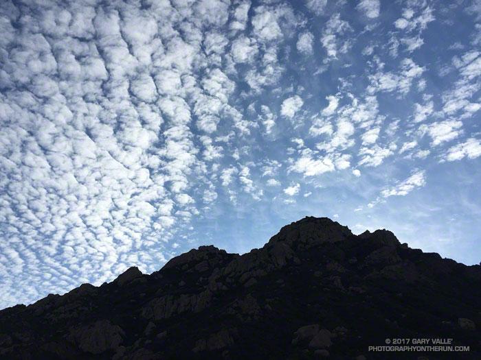 Boney Mountain skyline from the Old Boney Trail in Pt. Mugu State Park.