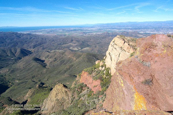 Pt. Mugu State Park, the Channel Islands, Oxnard Plain, and the mountains of Ventura and Santa Barbara