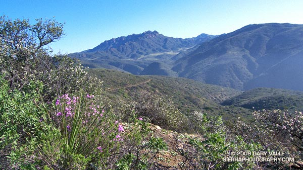 Boney Mountain and Serrano Valley from the Ray Miller Trail.