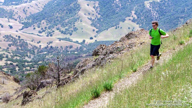 Running the North Peak Trail on Mt. Diablo