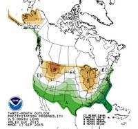 Climate Preciction Center's Winter Precipitation Outlook for December-January-February 2015-16