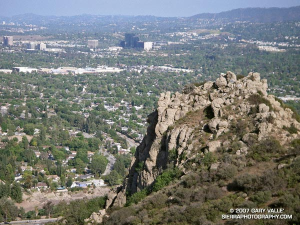 Castle Peak in the west San Fernando Valley