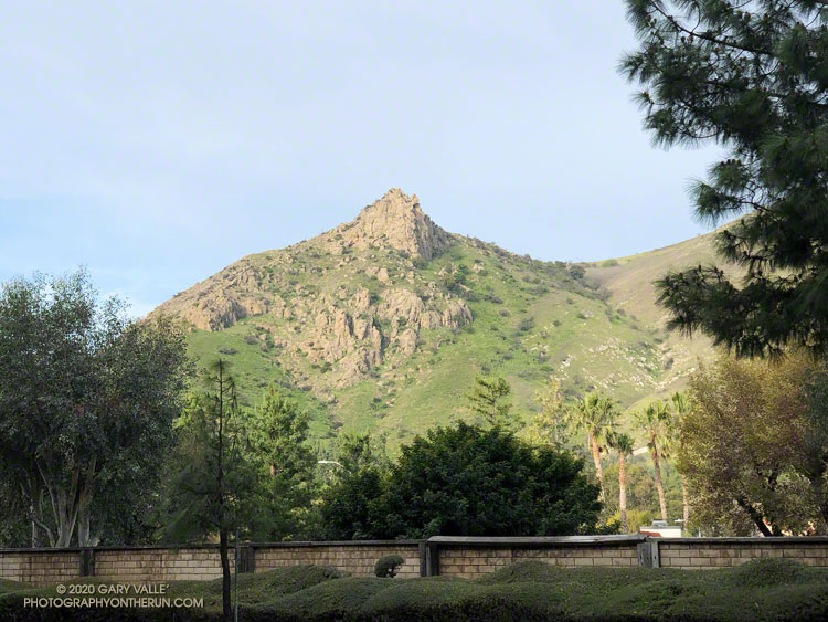 Castle Peak from Valley Circle Blvd.