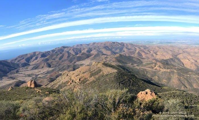 Pt. Mugu State Park from the Chamberlain segment of the Backbone Trail