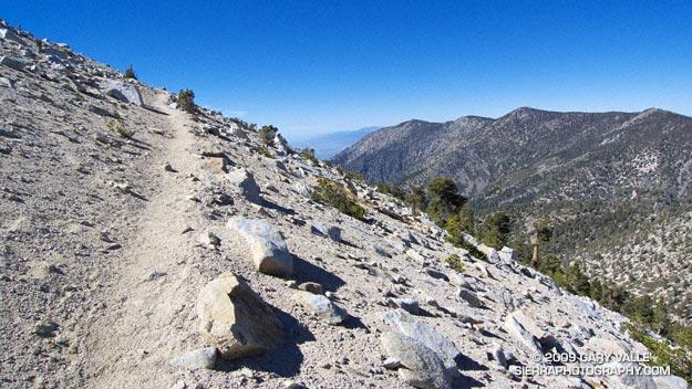 San Bernardino Mountain Divide from near Charlton Peak