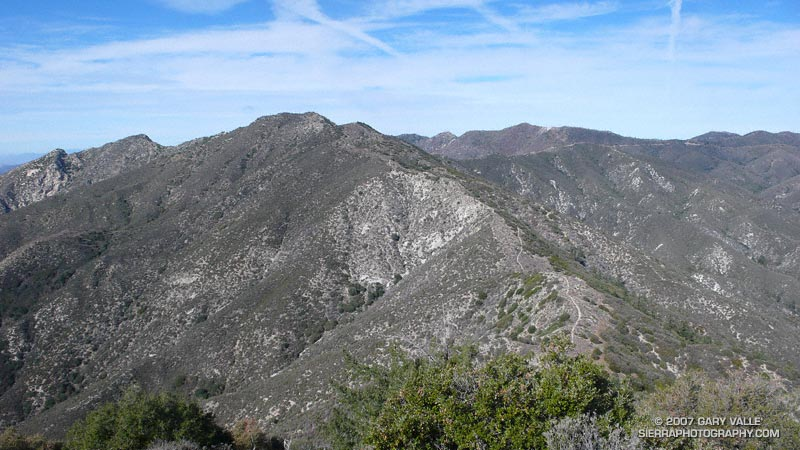 Condor Peak from Fox Mountain.