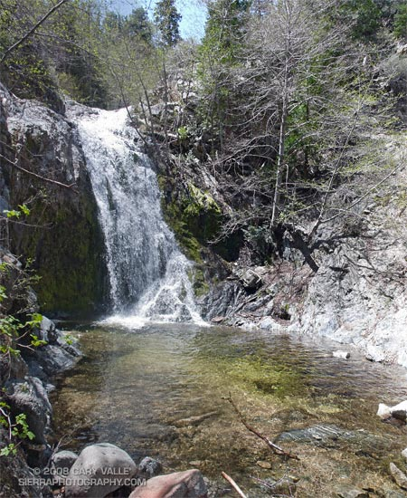 Cooper Canyon Falls, in the San Gabriel Mountains.