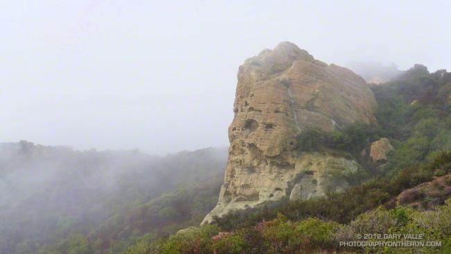 Eagle Rock in Topanga State Park