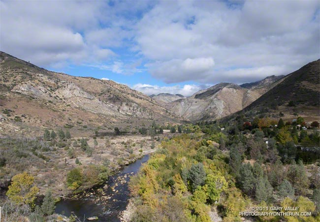 Kern River near the finish of the 2011 Burger Run