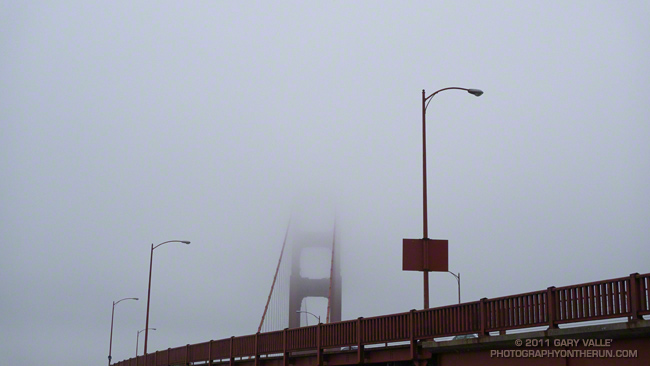 Golden Gate Bridge and Fog