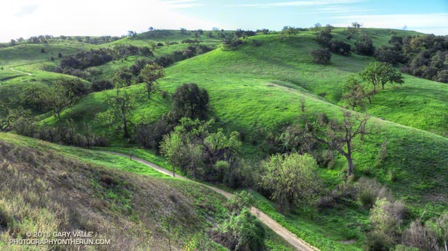 East Las Virgenes Canyon, Ahmanson Ranch