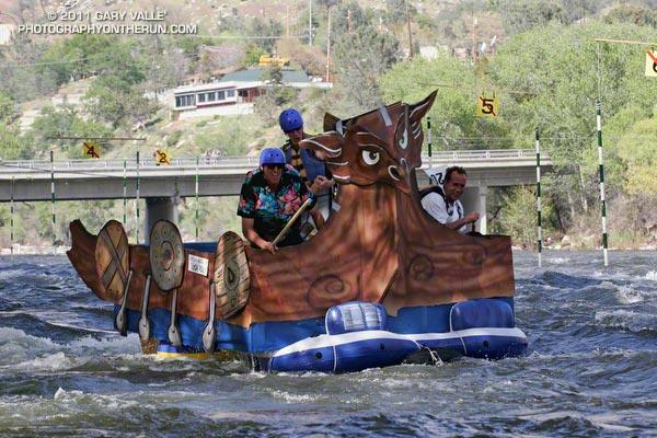 Hooligan Boat - 2011 Kern River Festival