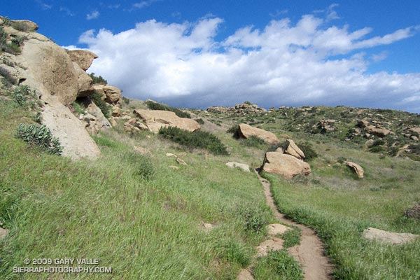 Hummingbird Trail in Rocky Peak Park