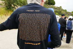 Jon Sutherland's thank you to those that have supported him over 50 years of running.