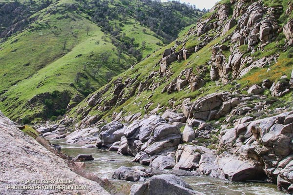 Kern Canyon along Hwy 178