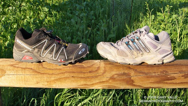 Salomon SpeedCross 2 and adidas Response Trail 14 Trail Running Shoes