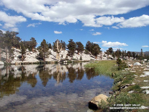 Long Lake in the Cottonwood Lakes basin.