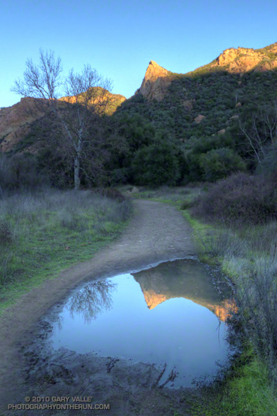 Sunset on Crags Road, Malibu Creek State Park