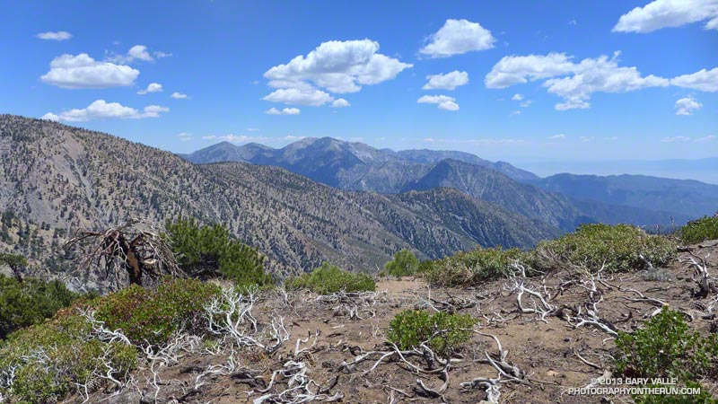 Mt. Baldy from Mt. Baden-Powell.
