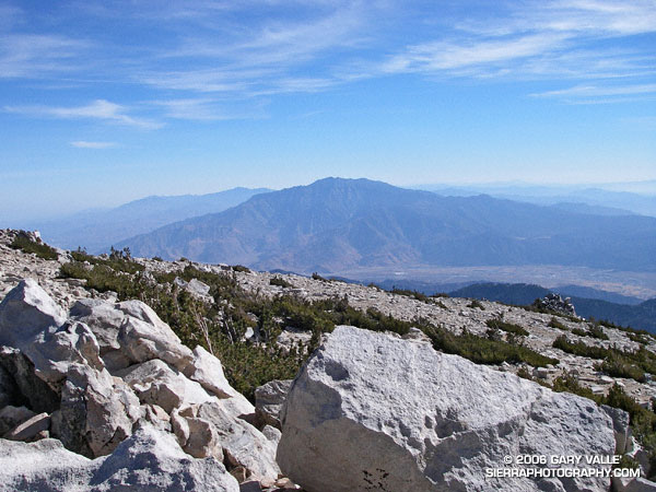 Mt. San Jacinto from the summit of San Gorgonio Mountain