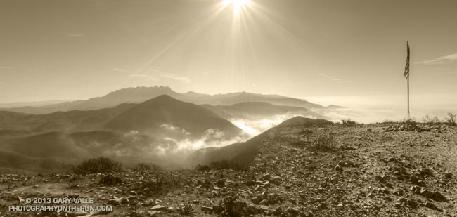Mugu Peak in Pt. Mugu State Park