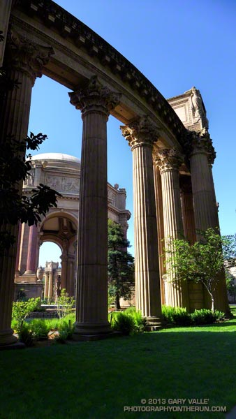 The Palace of Fine Arts, San Francisco.