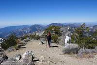 Summit of Mt. Hawkins (8850').
