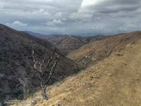 Cold front moving into Pt. Mugu State Park