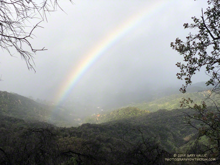 Rainbow Along the Garapito Trail