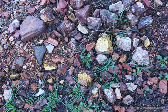 Rocks, colors and textures