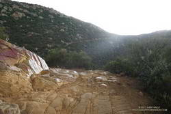 Mix of sun and rain on the Chumash Trail