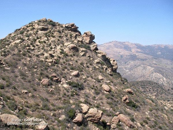 Rocky Peak in the Santa Susana Mountains