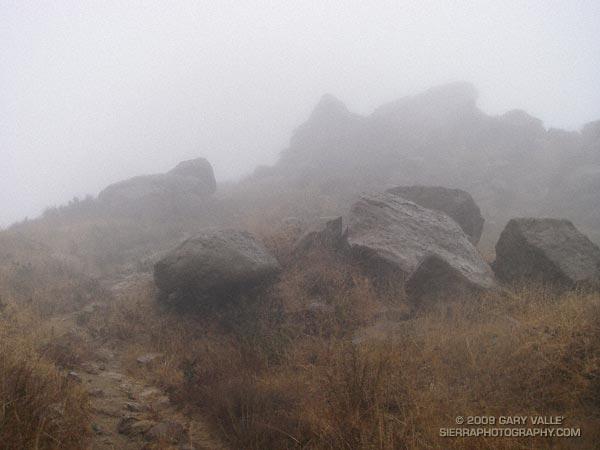 Rocky Peak Rainstorm
