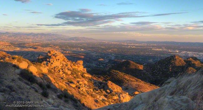 San Fernando Valley from Near Rocky Peak