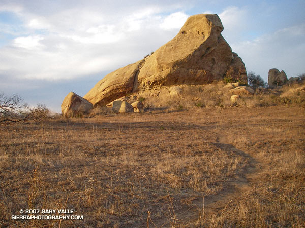 Turtle Rock at Sage Ranch Park in the Simi Hills, near Simi Valley, California.