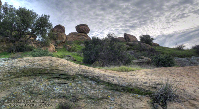 Sage Ranch Rocks and Clouds