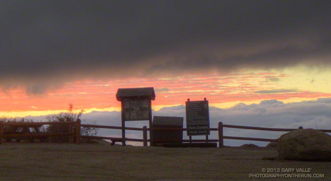Sunset at Sage Ranch Park