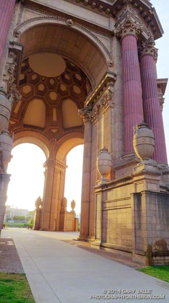 San Francisco Mornings One: Palace of Fine Arts