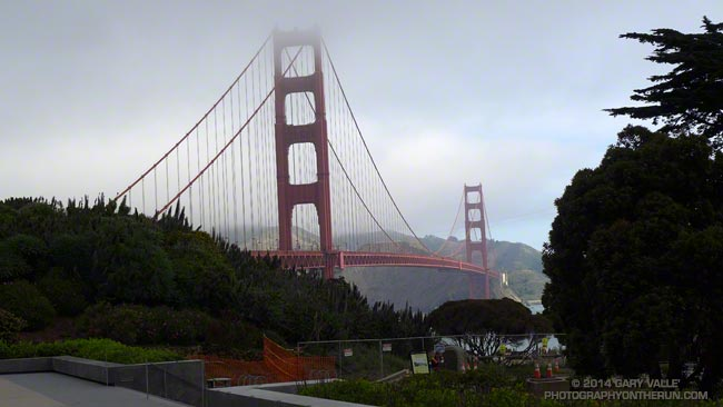 San Francisco Mornings Three: Golden Gate Bridge