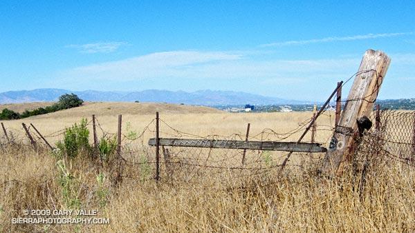 San Gabriel Mountains from Lasky Mesa