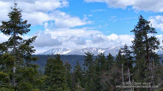 Mt. San Gorgonio and the San Bernardino Moutains