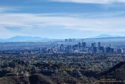 Century City, Downtown Los Angeles, San Gorgonio Mountain and San Jacinto Peak
