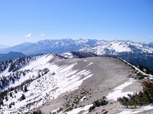 San Joaquin Ridge, near Mammoth Mountain.