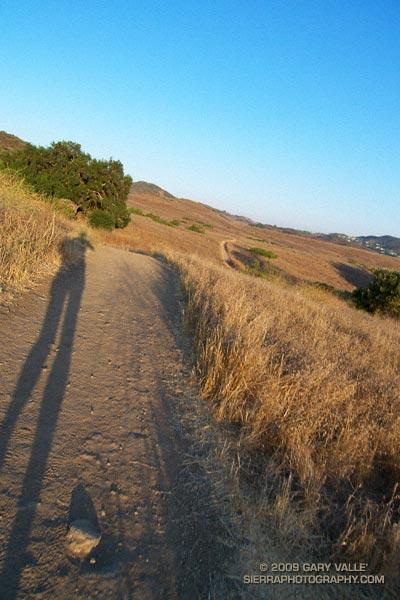Sunrise on the Satwiwa loop trail.