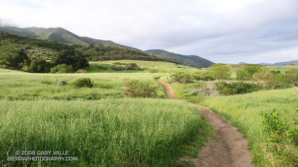 A segment of the Satwiwa Loop Trail at Rancho Sierra Vista/Satwiwa in Newbury Park.